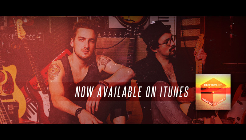 "New Heffron Drive Single ""Parallel"" – Available NOW!"