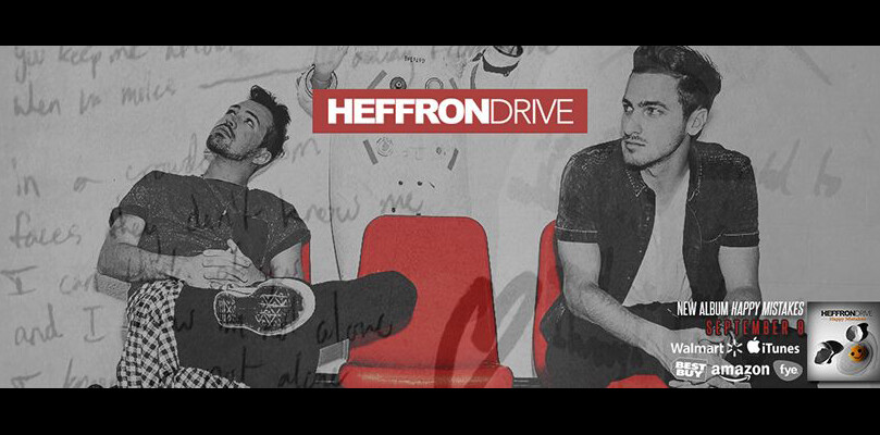 "Heffron Drive's Debut Album ""Happy Mistakes"" – Available Now!"
