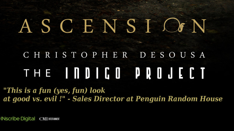 CMI Books inks worldwide print and e-book distribution deal with Inscribe Digital. Ascension to go on pre-sale fall/winter 2015.